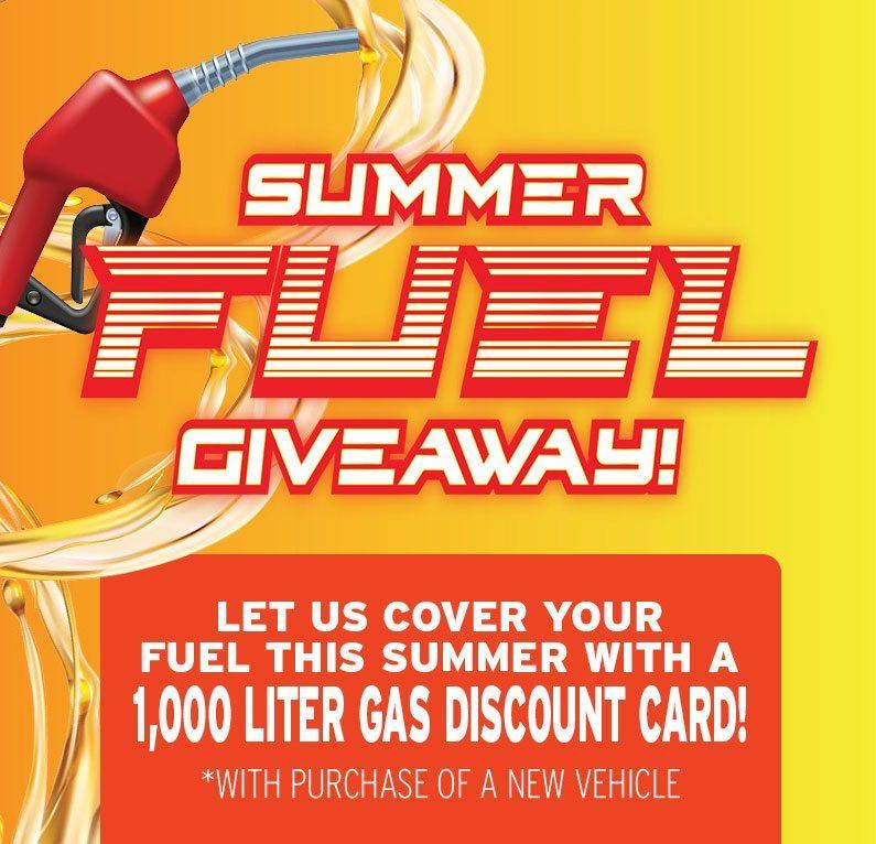 Summer Fuel Giveaway!